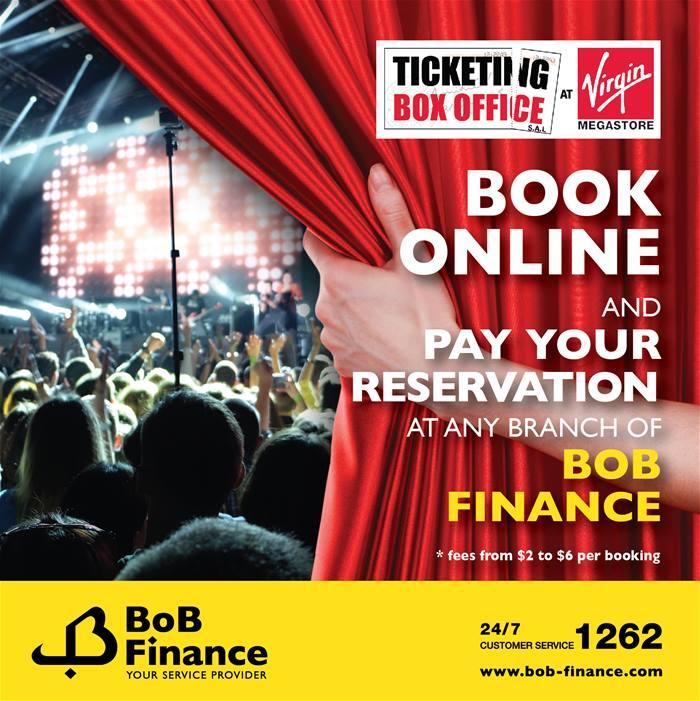 Bob Ticket Online