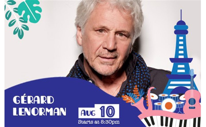 An exceptional French night at Ehdeniyat with Gerard Lenorman on 10 August… Book your tickets now!