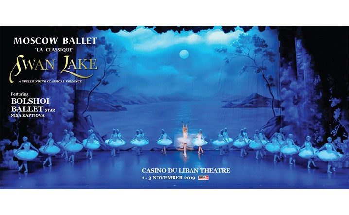 SWAN LAKE-MOSCOW BALLET LA CLASSIQUE From 01 Nov To 03 Nov... Grab your tickets now!