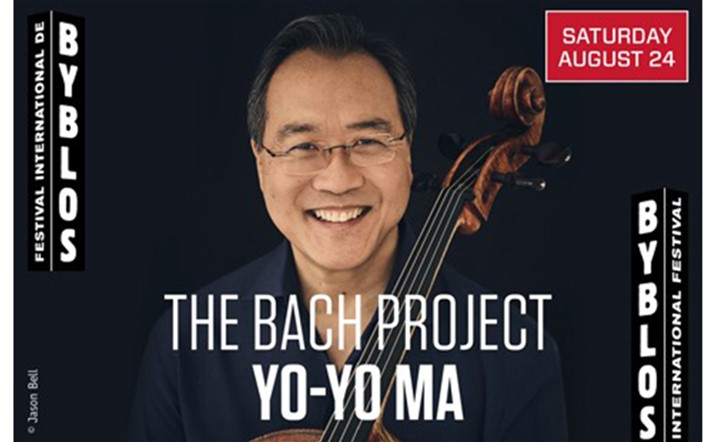 The Bach Project Yo-Yo Ma Johann Sebastian Bach at Byblos International Festival... Get your tickets now!