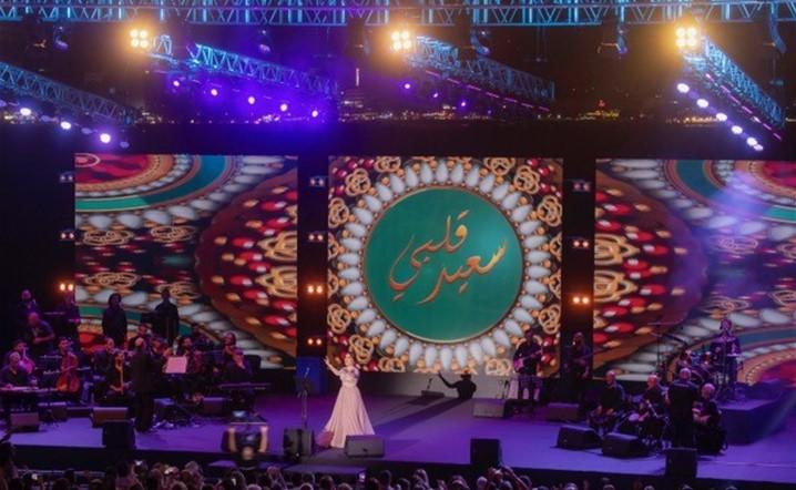 """صيدا تفتتح مهرجاناتها الدولية بـ"""" تحية الى وردة الجزائرية """" بصوت سارة الهاني"""