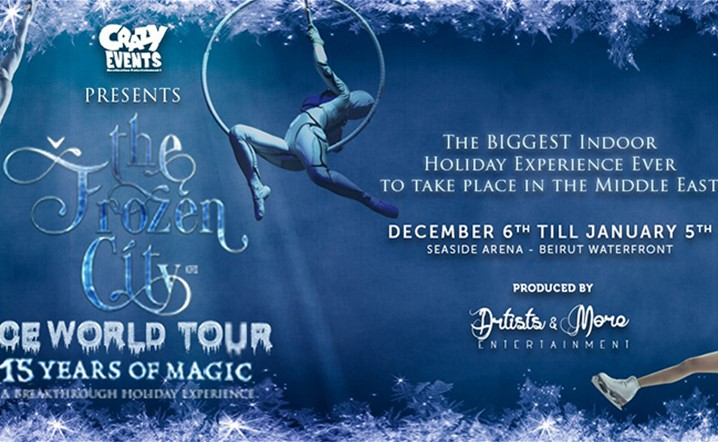 The Biggest Indoor Holiday Experience Ever to Take Place in The Middle East - The Frozen City! Grab your tickets!