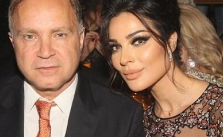 نادين نسيب نجيب بأول إطلالة لها مع زوجها بعد البلبلة