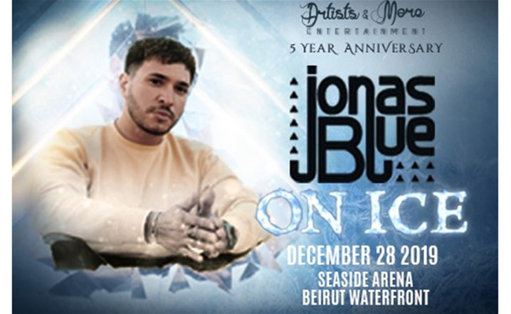 JONAS BLUE Performing ON ICE This Winter Season! Tickets on sale!