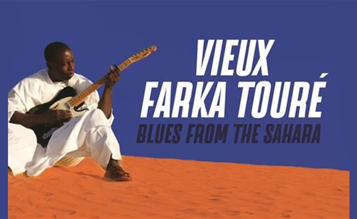Vieux Farka Touré - Blues from the Sahara at MusicHall on 26 November... Tickets on sale!