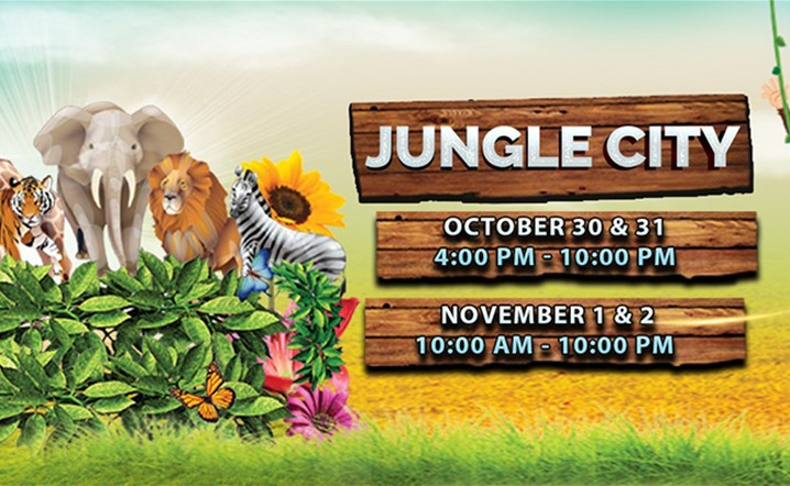Are you ready for a whole new experienceæ Join us at Animal Jungle from 30 Oct-2 Nov… Grab your tickets now!
