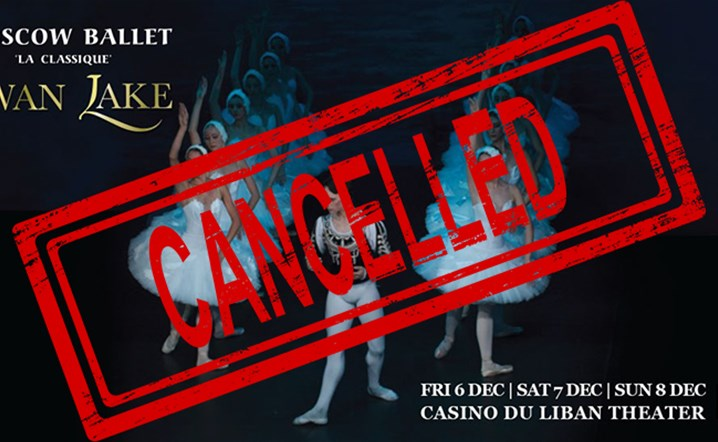 We regretfully announce the cancellation of the performances of Moscow Ballet La Classiques Swan Lake