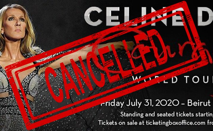 We regret to announce the cancellation of Celine Dion appearance at Beirut Waterfront on July 31st, 2020
