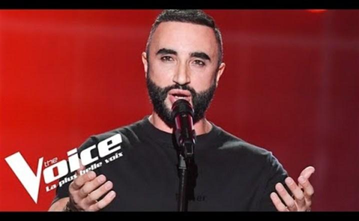 أداء اللبناني ماتيو الخضر يهز كراسي المدربيتن في برنامج the voice  فرنسا