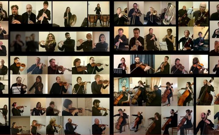 بالفيديو: عرض موسيقي رائع للأوركسترا الفيلهارمونية اللبنانية من المنزل