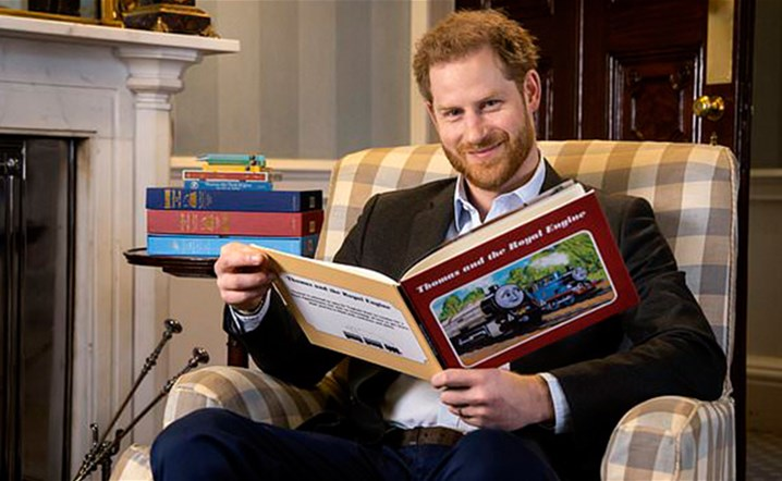 Prince Harry is celebrating the 75th anniversary of his favorite cartoon since childhood