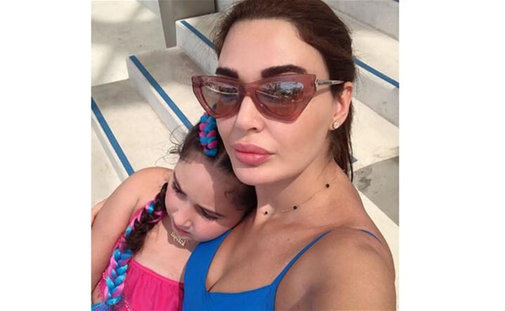 سيرين عبد النور تحتفل بعيد ابنتها تاليّا