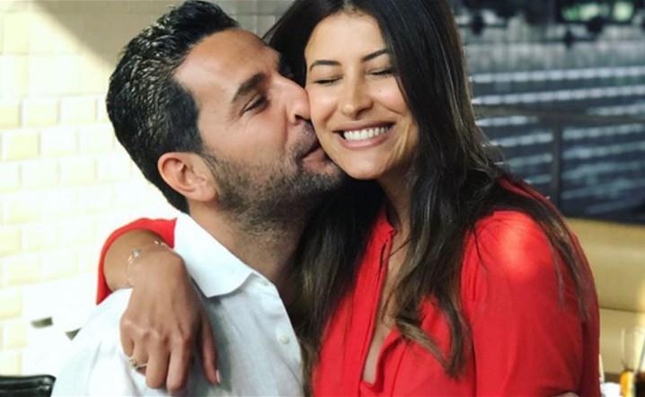 رغم بعده عن عائلته، وسام بريدي يفاجئ زوجته في عيد ميلادها