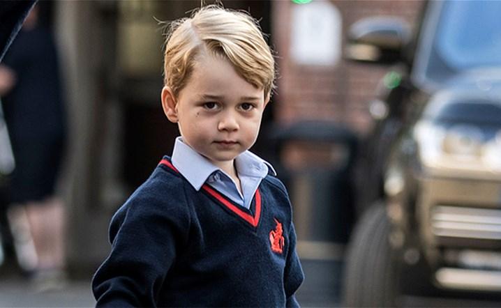 أحدث صور للأمير جورج بمناسبة عيد ميلاده السابع