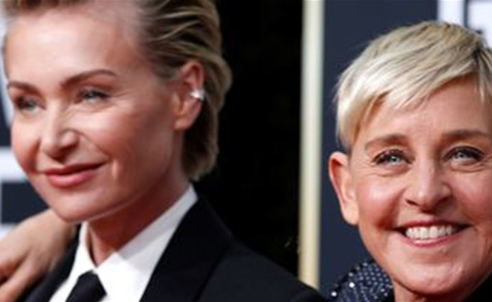 Ellen DeGeneres and wife Portia's mansion robbed with pricy jewelry and watches.