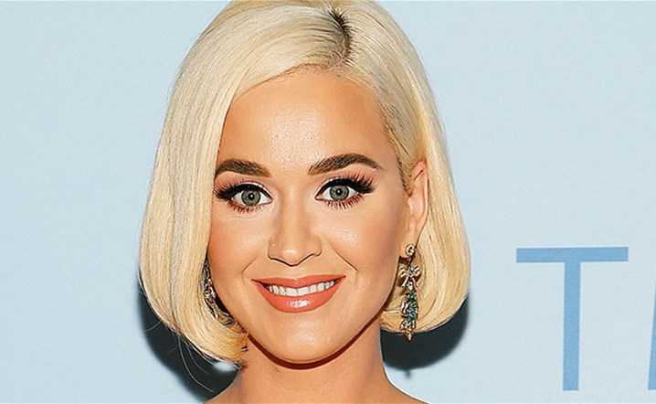 Katy Perry Goes To The Beach Weeks Before Pregnancy