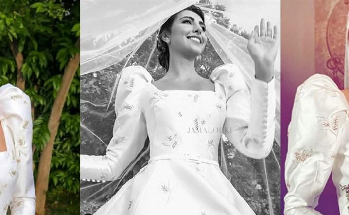 بالصور والفيديو: فاليري أبو شقرا باطلالتين راقيتين خلال زفافها