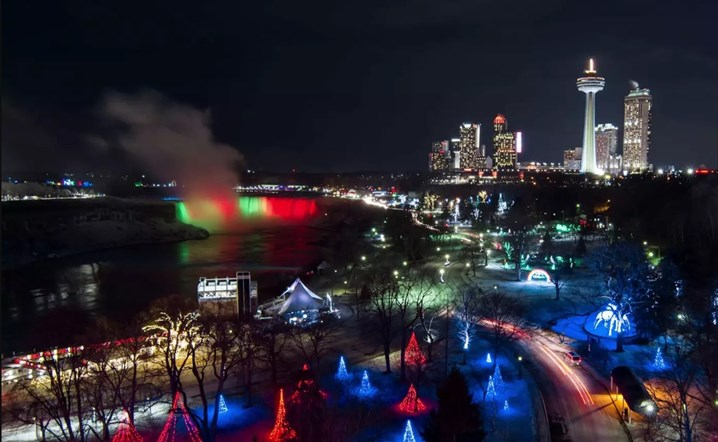 Niagara Falls, A Magical Lights Festival