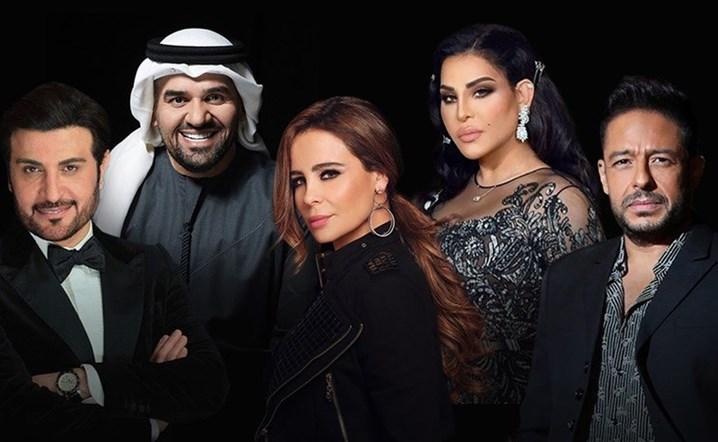"""12 فنانا لبنانيا ضمن قائمة """"فوربس"""" لأقوى النجوم في صناعة الموسيقى العربية"""