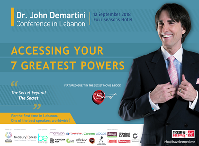 Dr. John Demartini Conference in Lebanon