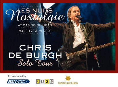 Chris De Burgh / Gala Dinner