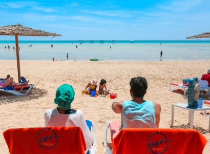 يوم عائلي ممتع على الشاطئ في مدينة الملك عبدالله الاقتصادية~NoOnline~