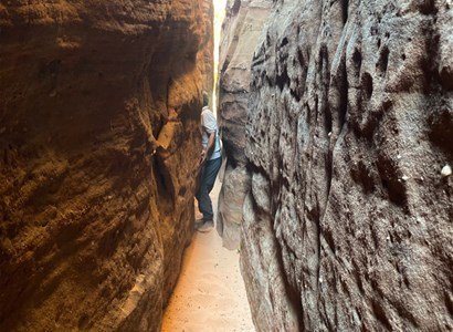 Discover caves and ancient inscriptions in Neom
