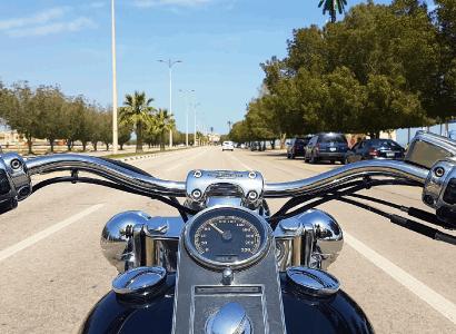 3 أيام تجربة الدراجات النارية